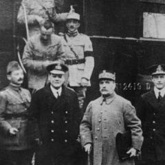 Cérémonie du 11 novembre 1918
