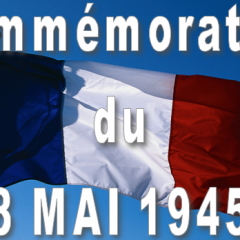 Cérémonie du 08 mai 1945
